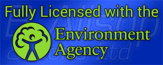 Fully Licensed with the Environment Agency